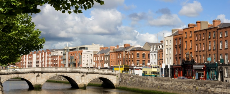 why invest in Ireland - Dublin Cityscape